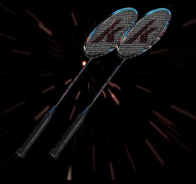 KAWASAKI 川崎 KC-079 超轻碳素羽毛球对拍穿线 送3球