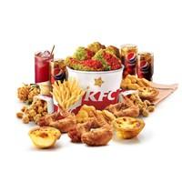 KFC 肯德基 热辣欢享餐(3-4人)单次券