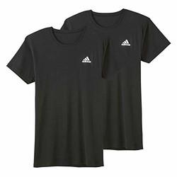 adidas 阿迪达斯 T恤 圆领 2件装 APB0132 *2件 +凑单品