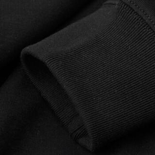 AK男装(AKSERIES)都市特工字母走针圆领卫衣1805006 灰色XL