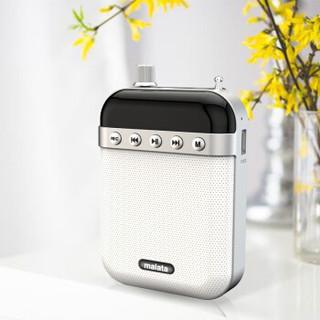 万利达(Malata)T81小蜜蜂扩音器喇叭 大功率便携导游导购教学专用 插卡U盘播放器唱戏机 黑色
