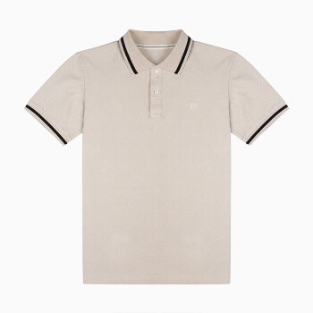 InteRight 全棉POLO衫男 T恤 水洗休闲短袖