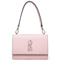 Helena Rubinstein 赫莲娜 女士手提包 迷你百搭小包包 包盖时尚牛皮女士单肩斜挎包H2-2039761K3D/C3D/A1D  浅粉色