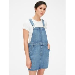 GAP 453521 女士牛仔背带连衣裙