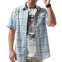 LONSDALE 龙狮戴尔 113205781 男款户外格子衬衫