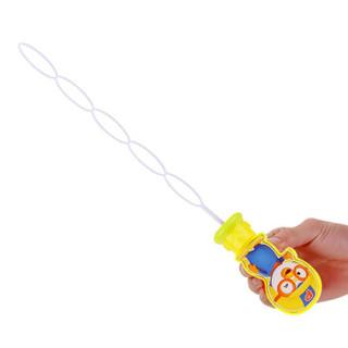 美澌嘉 啵乐乐泡泡机 泡泡棒2只装 泡泡液 儿童吹泡泡 手甩出泡泡 泡泡玩具(赠2袋补充液)
