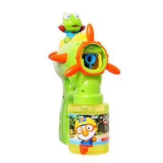 美澌嘉 科龙全自动泡泡枪 泡泡机 带灯光音乐 不漏水大瓶泡泡水 儿童泡泡玩具 泡泡棒