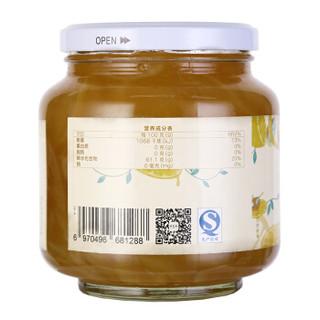 恒寿堂 蜂蜜柠檬茶1000g 蜜炼果味果酱冲饮茶 含维C水果茶 1kg大罐装