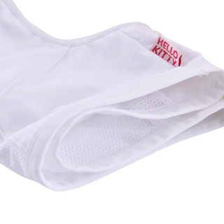 Hello Kitty 凯蒂猫 少女内衣初中生发育期中学生 胸罩  KTW004   2件  白色 粉色  80A