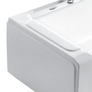 箭牌(ARROW)A1728SQ 箭牌卫浴 亚克力五件套浴缸独立式浴缸  右裙