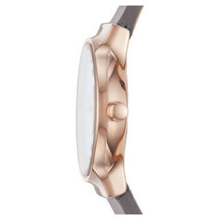 诗格恩(Skagen)手表 皮质表带休闲简约石英女士腕表 SKW2669