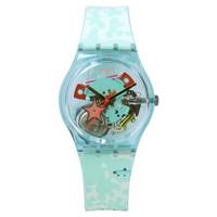 斯沃琪(Swatch)瑞士手表 原创系列悠闲池塘 插画 石英男女表GL121