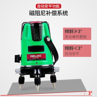 德力西电气(DELIXI ELECTRIC)红外线投线激光水平仪打线高精度 投线仪强光打线 绿光 SP2-2E 2线 经济型