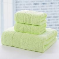 金号 纯棉提锻毛浴巾 3件套 (1浴巾+2毛巾 )