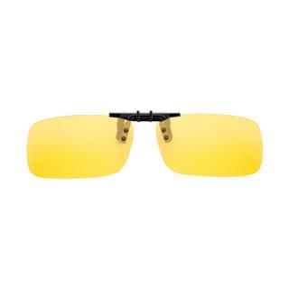 爱蚁(ianttek)AY-15 车载偏光太阳镜夹片 近视镜夹片式 太阳眼镜墨镜夹片 司机镜男女通用 黄色