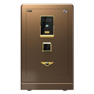 大一(DAYI)保险柜 3C认证家用办公60指纹密码保险柜咖啡金密码指纹款