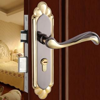 汇泰龙(Hutlon) 简约室内卧室房门锁静音木门锁 DS-8882
