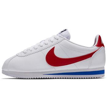 NIKE 耐克 女子 阿甘 休闲鞋 CORTEZ LEATHER 运动鞋 807471-103 白色 36码
