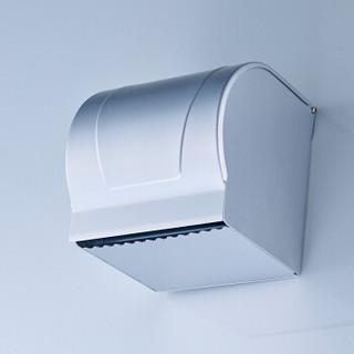 家蕊(JIARUI)6001-1B 卫生间太空铝纸巾盒 全封闭厕纸盒草纸架
