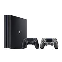 SONY 索尼 PlayStation4 Pro(PS4 Pro) 双手柄套装 游戏主机 1TB