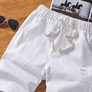 雅鹿 男士男装短裤五分裤男裤子韩版潮流时尚休闲运动裤 18651001