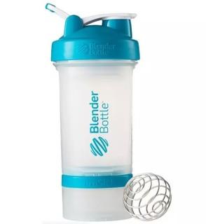 Blender Bottle ProStak款蛋白粉摇摇杯 运动健身水杯带搅拌球 黑色 650ml *2件