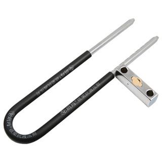 玥玛 玻璃门锁 U型锁 730-3033