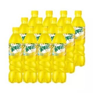限地区 : PEPSI 百事 美年达 Mirinda 香蕉味 碳酸饮料 500/600ml*12瓶