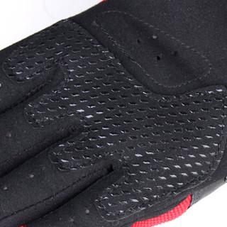 赛羽SCOYCO摩托车夏季骑行手套碳纤维护壳骑士机车防摔全指手套MC14B-2 黑色XL