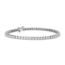 Blue Nile 铂金 钻石手链(54颗钻/约3克拉总重量)