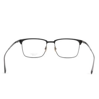 MASUNAGA增永眼镜男女复古全框眼镜架配镜近视光学镜架SWING #19 黑框黑圈