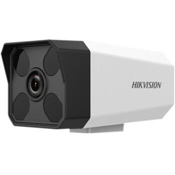 海康威视摄像头200万/1080P网络高清监控摄像头带POE红外50米  4MM焦距 DS-IPC-B12-I(送支架)