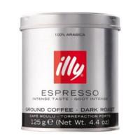 illy 意利 Espresso 深度烘焙咖啡粉 125g