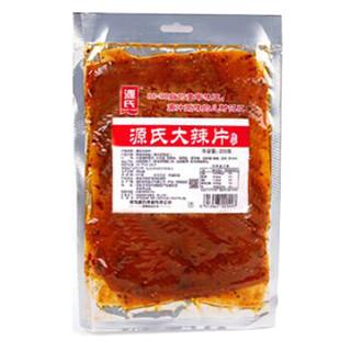 源氏 网红休闲零食 老式大辣片 辣条豆干豆皮 200g