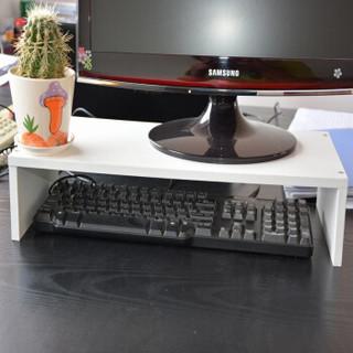 HMJIA H-X302 显示器增高架电脑桌桌面支架 办公室置物架 白色