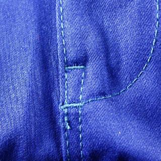 威特仕 / WELDAS 33-9700 火狐狸蓝色电焊工作裤阻燃棉材质 适合烧焊铸造石油化工机电等场合  L 1条