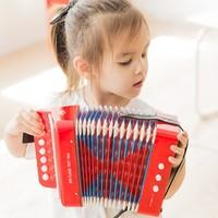 NEW CLASSIC TOYS 益智早教音乐启蒙玩具儿童手风琴
