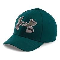 Under Armour 女式 caliber 2.0 绿色帽子