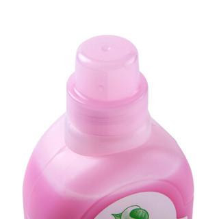 森力佳synergetic进口低敏环保衣物柔顺剂 德国技术 浓缩花香型 大瓶装护理剂 柔软护型防静电 1L