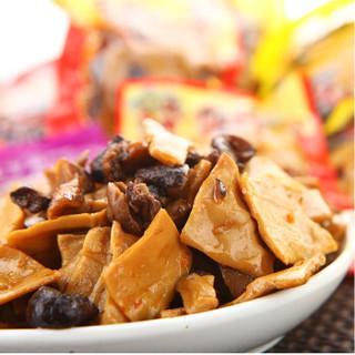 有友 重庆特产 休闲零食 豆干素肉 香菇豆干香辣味200G(两袋装)