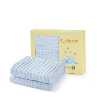 PurCotton 全棉时代 新生儿纱布浴巾 95*95cm 盒装