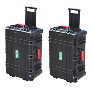 老A(LAOA)拉杆仪表箱安全箱防水箱仪器箱工具箱大号设备箱30英寸LA114230