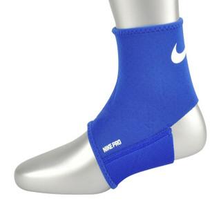 NIKE 耐克护踝扭伤防护具篮球健身运动足球男女护脚踝 单只装 蓝色 NMS54413 S