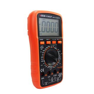 胜利仪器(VICTOR)数字万用表电容表数显万能表电表VC9805A+