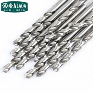 老A(LAOA)M2高速钢全磨制麻花钻头不锈钢钻头9.0mm LA166090
