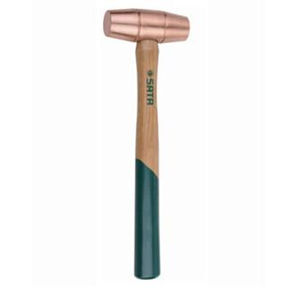 世达(SATA)92363 胡桃木柄铜锤 3磅 /把