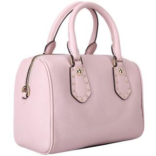 MICHAEL KORS 迈克·科尔斯 ARIA系列 粉色皮质女士手提单肩斜挎包 35S8GXAS1L BLOSSOM