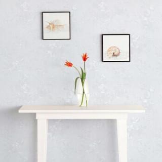 意尔嫚 墙贴家居 自粘墙纸 防水壁纸墙纸卧室客厅电视背景墙翻新贴膜贴纸 米白玫瑰 0.6*5米