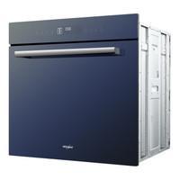 Whirlpool 惠而浦 电烤箱 嵌入式 73L大容量 上下独立控温 烤箱 Double X