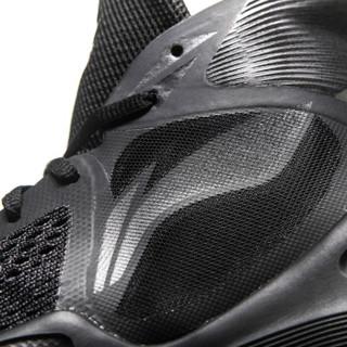 LI-NING 李宁 篮球系列 男子 篮球专业比赛鞋 ABAN037-4  标准黑/铁青灰  43码
